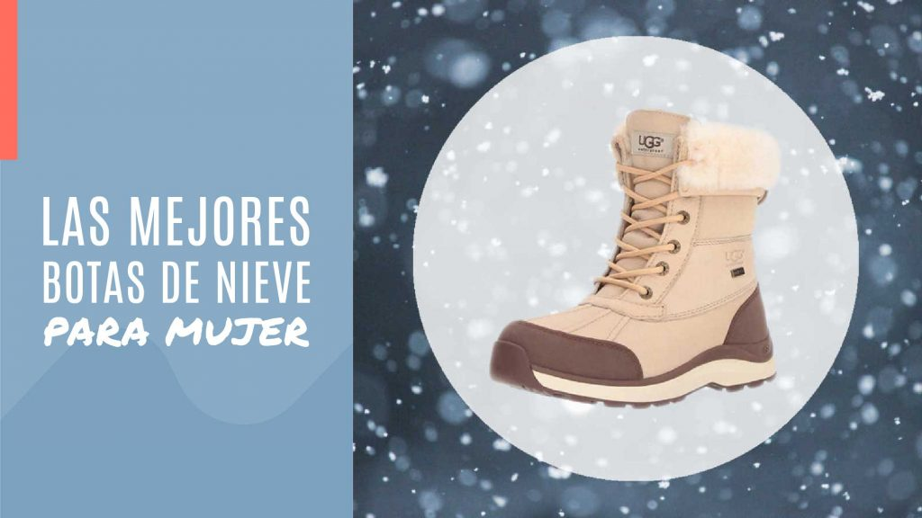 botas nieve mujer