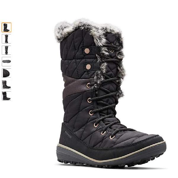 botas columbia nieve