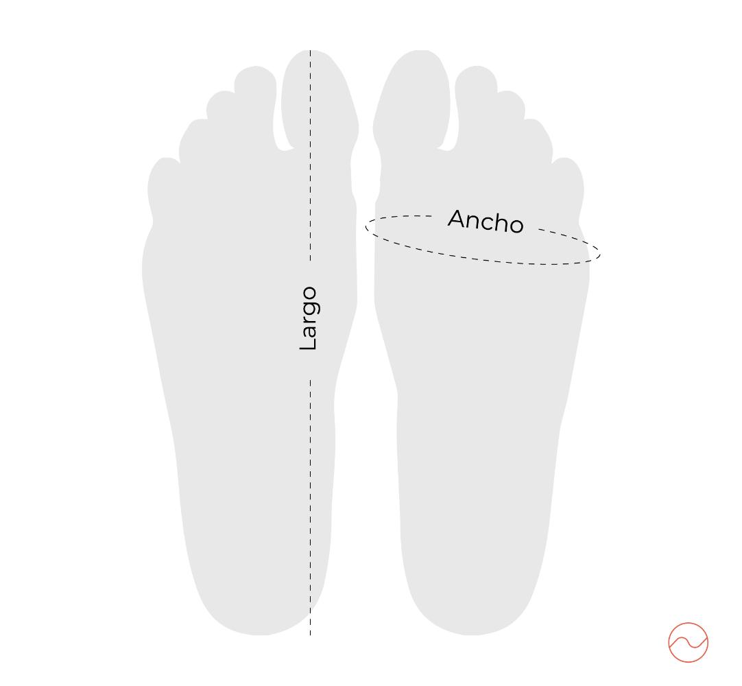 medidas pies