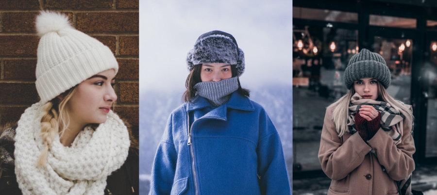 gorro invierno mujer