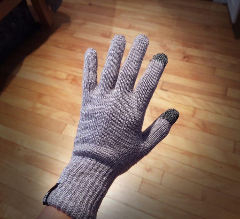 guantes de lana merina