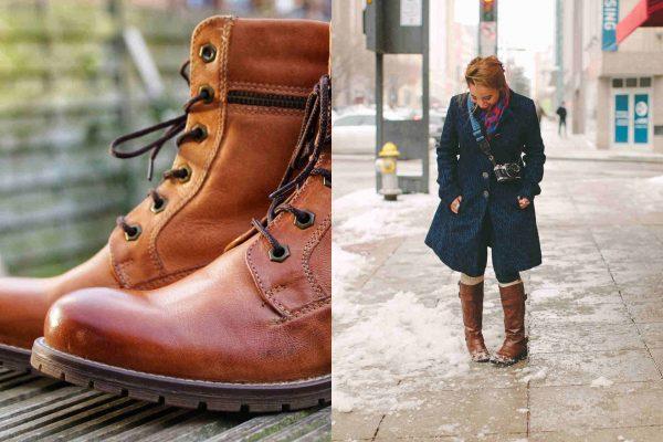 Como limpiar botas de cuero